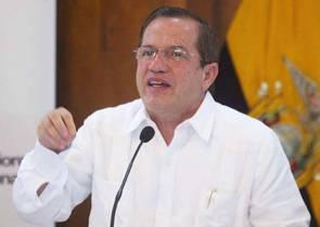 Ricardo Patiño Ministro degli Esteri dell'Ecuador